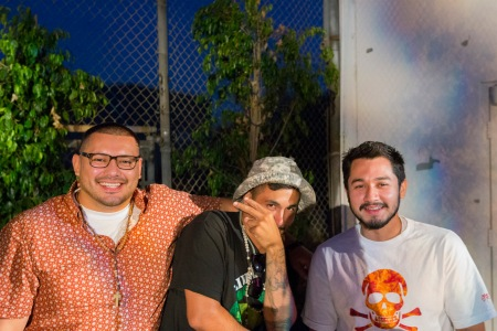 Crew at Daylights hosted by Dumbfoundead